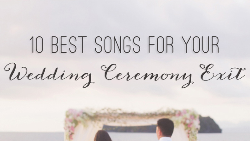 Song For A Wedding Ceremony: The Wedding Scoop